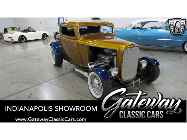 1932 Ford 3-Window Coupe (CC-1420336) for sale in O'Fallon, Illinois