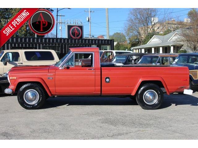 1977 Jeep CJ (CC-1423427) for sale in Statesville, North Carolina