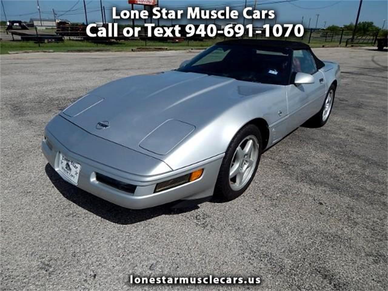 1996 Chevrolet Corvette (CC-1423471) for sale in Wichita Falls, Texas