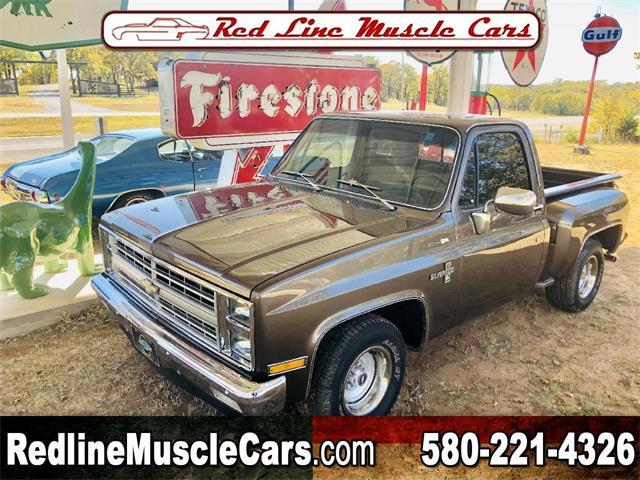 1984 Chevrolet C/K 10 (CC-1423524) for sale in Wilson, Oklahoma