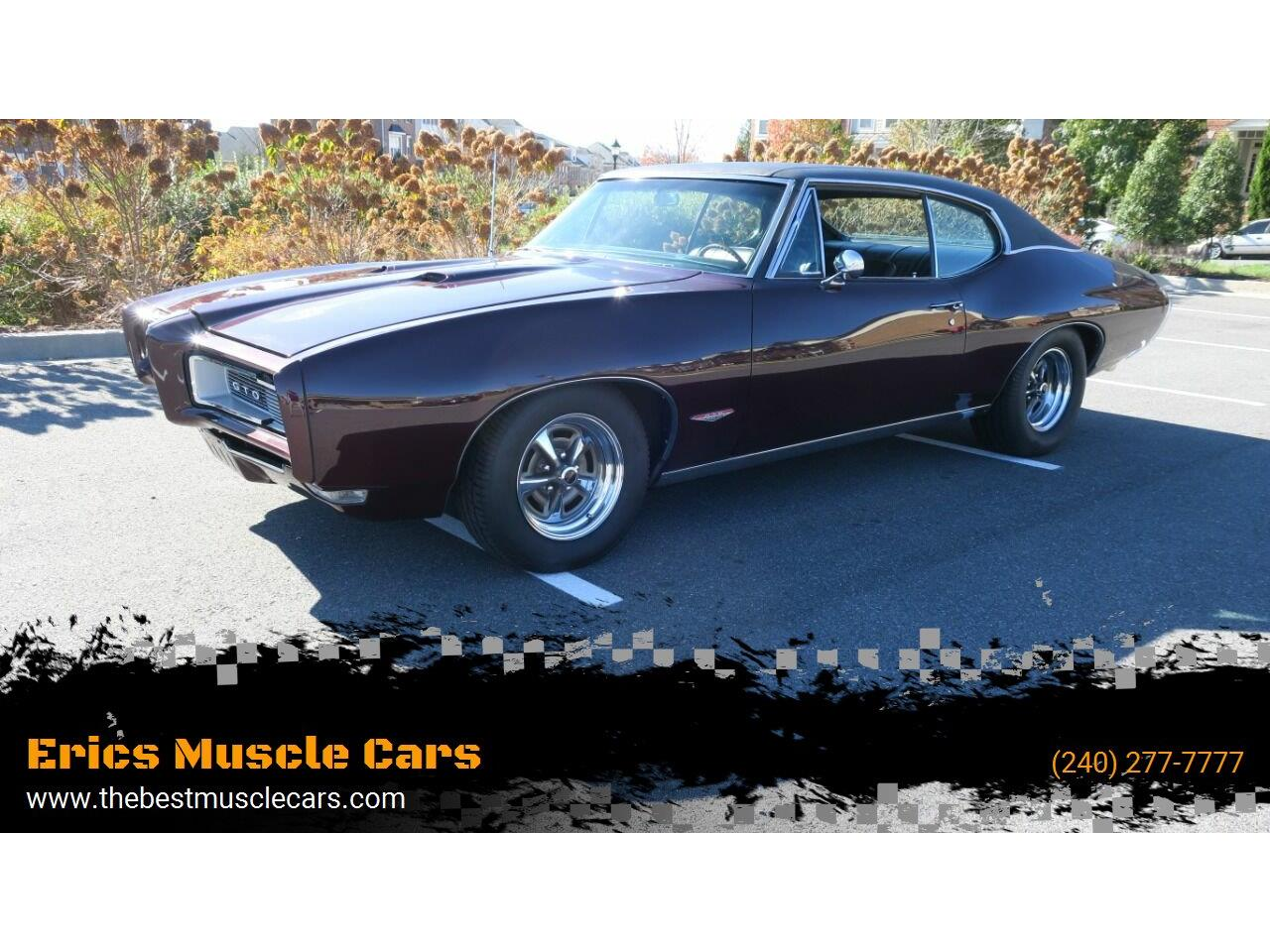 1968 Pontiac GTO (CC-1423727) for sale in Clarksburg, Maryland