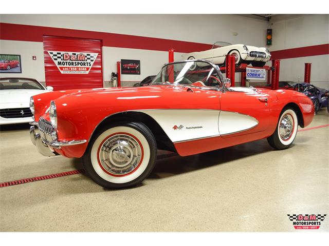 1957 Chevrolet Corvette (CC-1423813) for sale in Glen Ellyn, Illinois