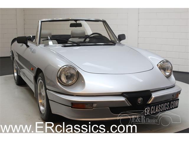 1986 Alfa Romeo Spider (CC-1423831) for sale in Waalwijk, Noord Brabant