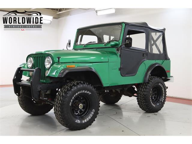1972 Jeep CJ (CC-1423901) for sale in Denver , Colorado