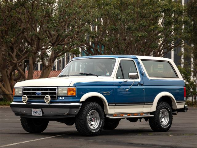 1989 Ford Bronco (CC-1423962) for sale in Marina Del Rey, California