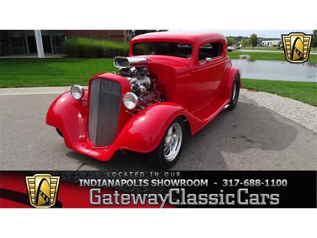 1934 Chevrolet 3-Window Pickup (CC-1424060) for sale in O'Fallon, Illinois