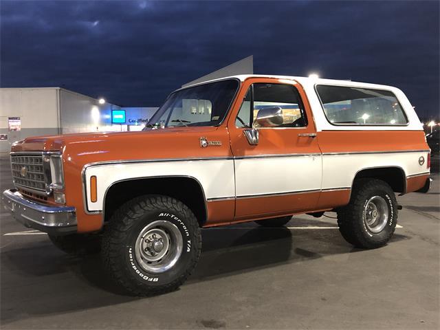 1976 Chevrolet Blazer (CC-1424114) for sale in Yakima, Washington