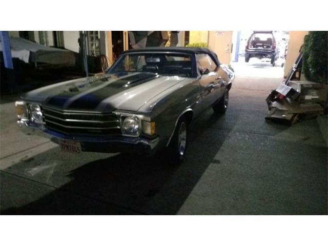 1972 Chevrolet Chevelle (CC-1424271) for sale in Cadillac, Michigan