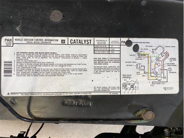 1981 Pontiac Firebird Trans Am (CC-1424331) for sale in Lincoln, Nebraska