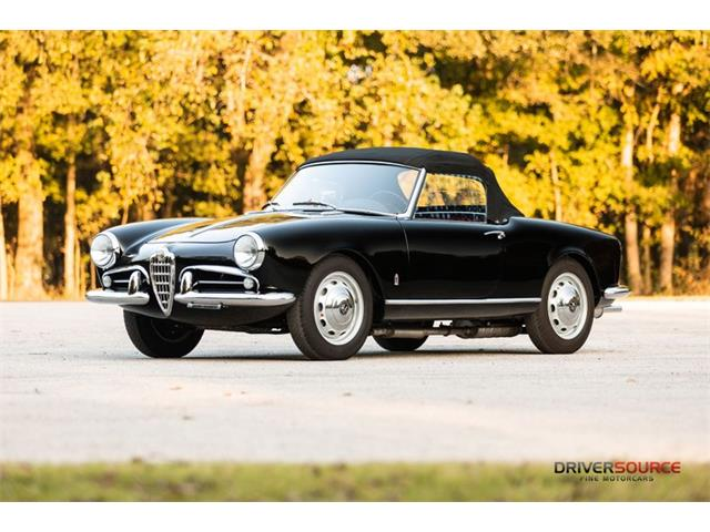1958 Alfa Romeo Giulietta Spider Veloce (CC-1424332) for sale in Houston, Texas