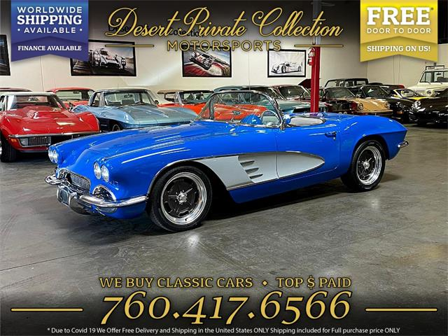 1961 Chevrolet Corvette (CC-1424369) for sale in Palm Desert , California
