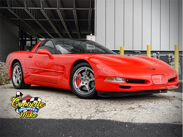 2002 Chevrolet Corvette (CC-1424376) for sale in Burr Ridge, Illinois