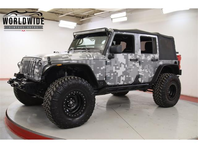 2014 Jeep Rubicon (CC-1424515) for sale in Denver , Colorado