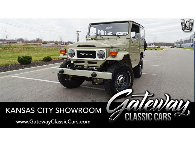 1984 Toyota Land Cruiser FJ40 (CC-1424557) for sale in O'Fallon, Illinois