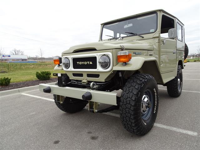 1984 Toyota Land Cruiser FJ40 (CC-1424557) for sale in O'Fallon, Illinois