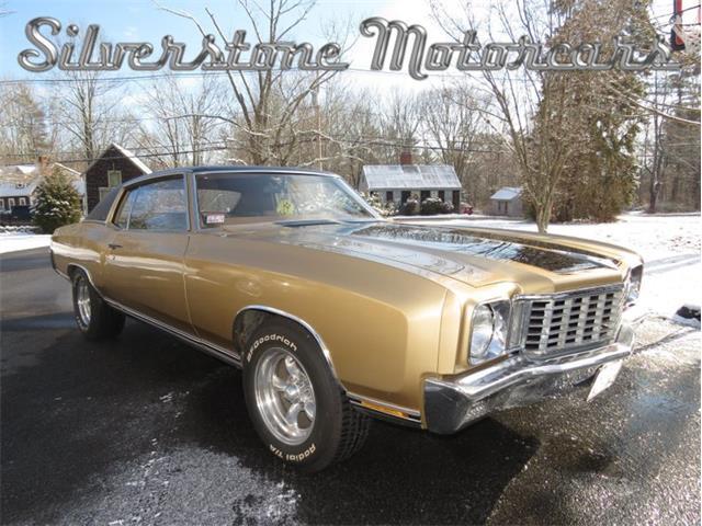 1972 Chevrolet Monte Carlo (CC-1424576) for sale in North Andover, Massachusetts