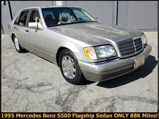 1995 Mercedes-Benz S500 (CC-1424578) for sale in Cadillac, Michigan