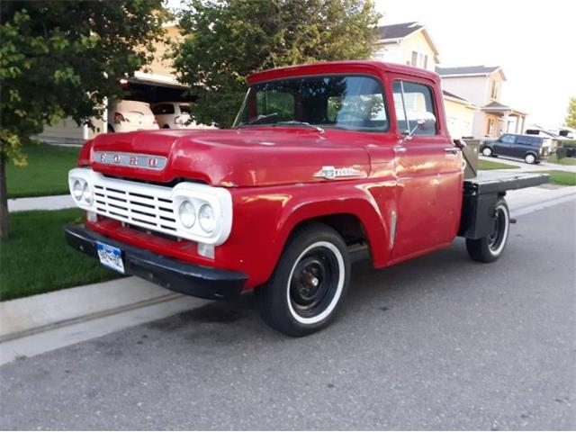 1959 Ford F100 (CC-1424582) for sale in Cadillac, Michigan