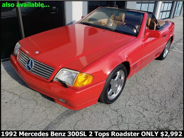 1992 Mercedes-Benz 300SL (CC-1424589) for sale in Cadillac, Michigan