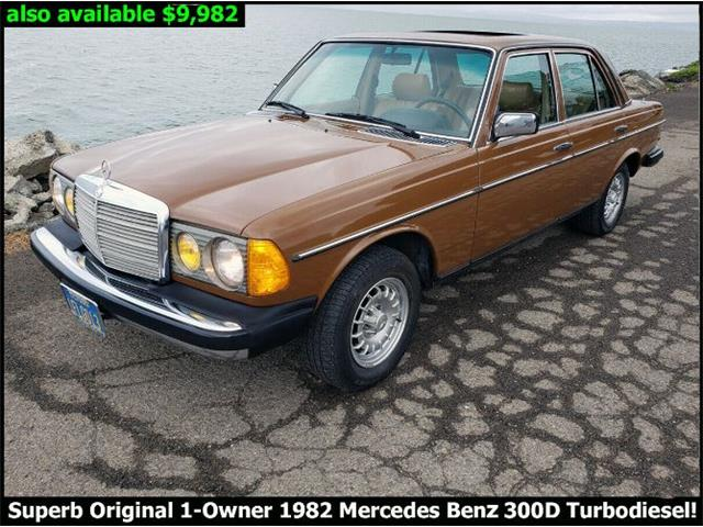 1982 Mercedes-Benz 300D (CC-1424592) for sale in Cadillac, Michigan