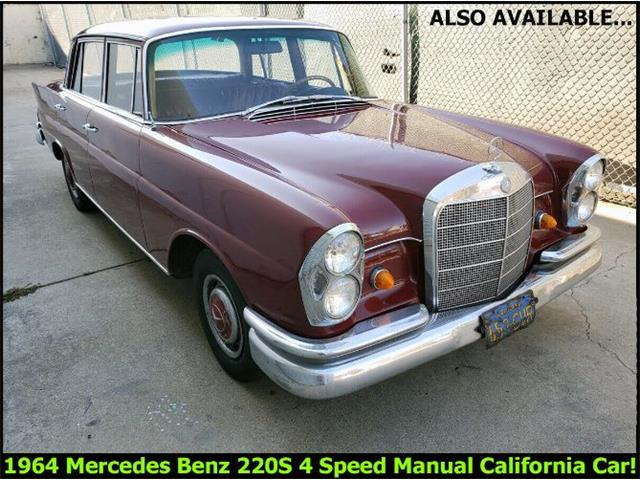 1964 Mercedes-Benz 220SE (CC-1424597) for sale in Cadillac, Michigan