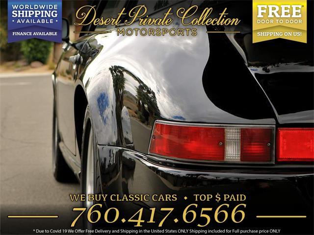 1986 Porsche 911 (CC-1424695) for sale in Palm Desert , California