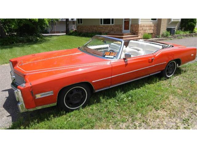 1976 Cadillac Eldorado (CC-1420488) for sale in Cadillac, Michigan