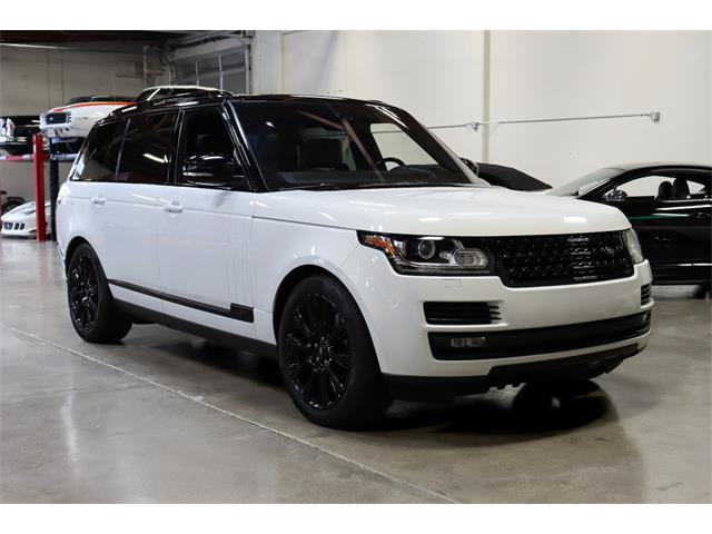 2017 Land Rover Range Rover (CC-1424883) for sale in San Carlos, California