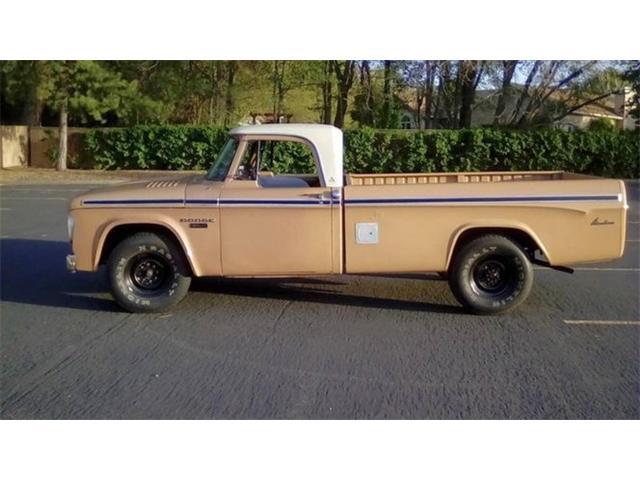 1968 Dodge D200 (CC-1424894) for sale in Cadillac, Michigan