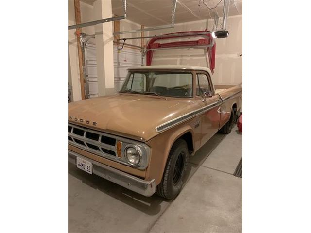 1968 Dodge D200 (CC-1424894) for sale in Cadillac, Michigan