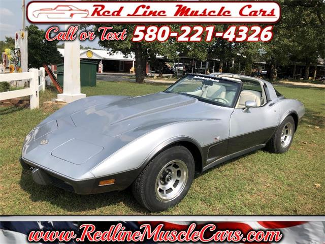 1978 Chevrolet Corvette (CC-1424962) for sale in Wilson, Oklahoma