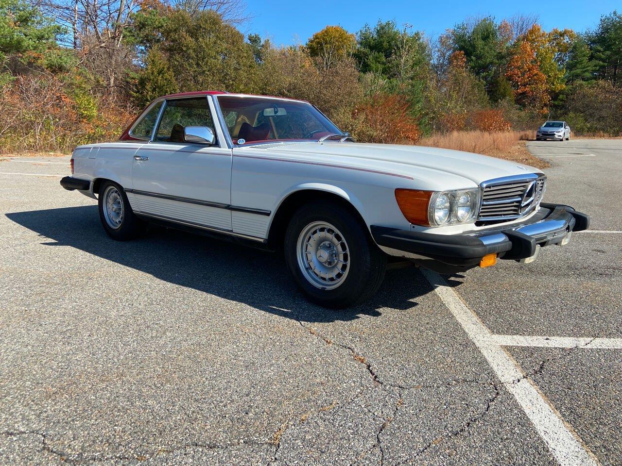 1978 Mercedes-Benz 450SL (CC-1420506) for sale in Westford, Massachusetts