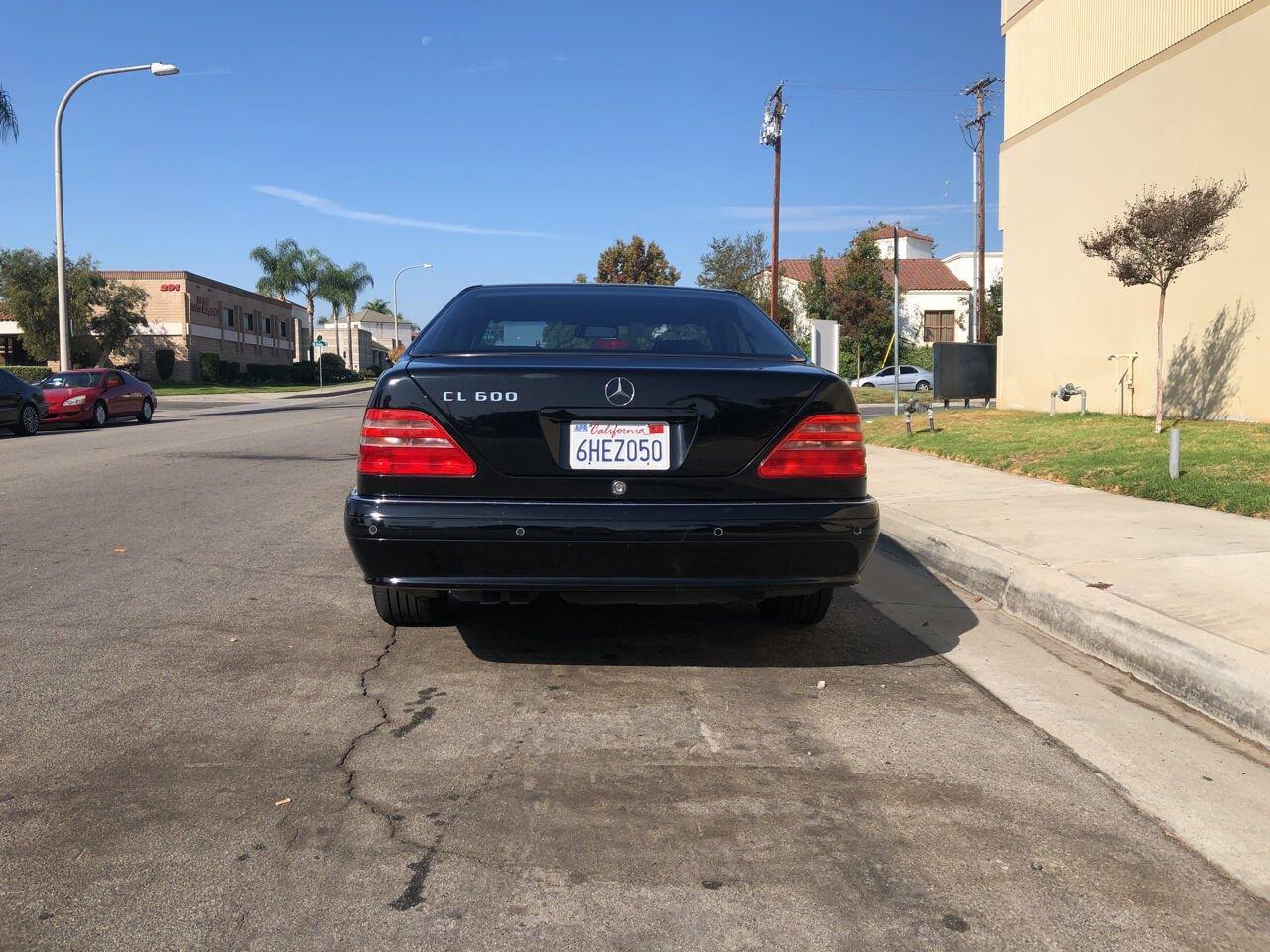 1999 Mercedes-Benz CL-Class (CC-1420507) for sale in Brea, California