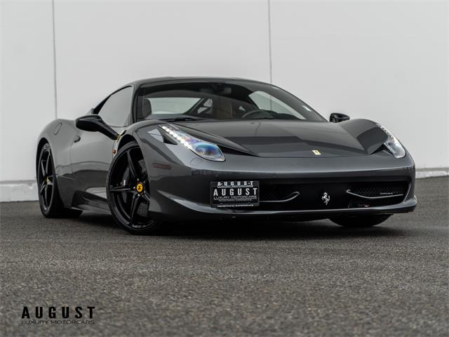 2012 Ferrari 458 (CC-1425082) for sale in Kelowna, British Columbia
