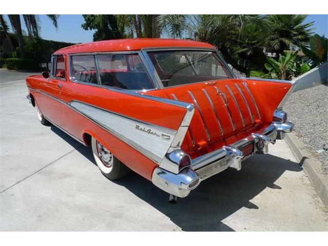 1957 Chevrolet Bel Air Nomad (CC-1425094) for sale in Brea, California