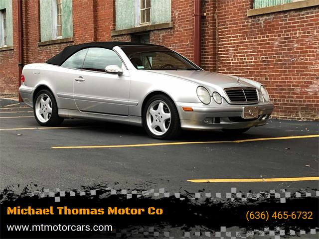 2003 Mercedes-Benz CLK (CC-1425114) for sale in Saint Charles, Missouri