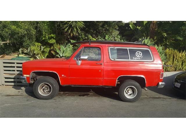 1985 Chevrolet Blazer (CC-1425117) for sale in Brea, California