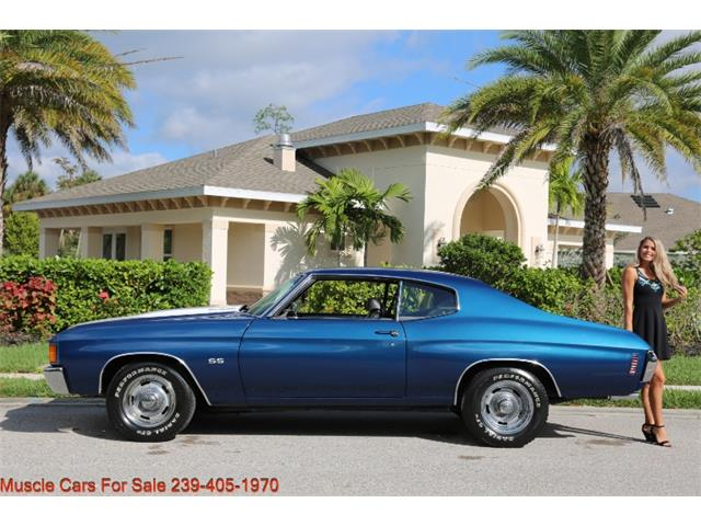 1972 Chevrolet Chevelle SS (CC-1425143) for sale in Fort Myers, Florida