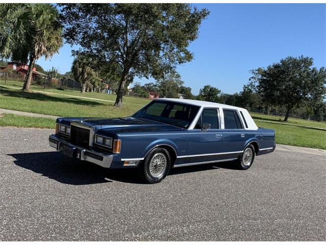 1989 Lincoln Town Car (CC-1425254) for sale in Clearwater, Florida