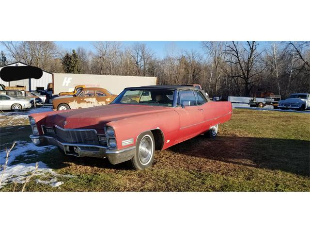 1968 Cadillac 2-Dr Convertible (CC-1425328) for sale in Thief River Falls, Minnesota