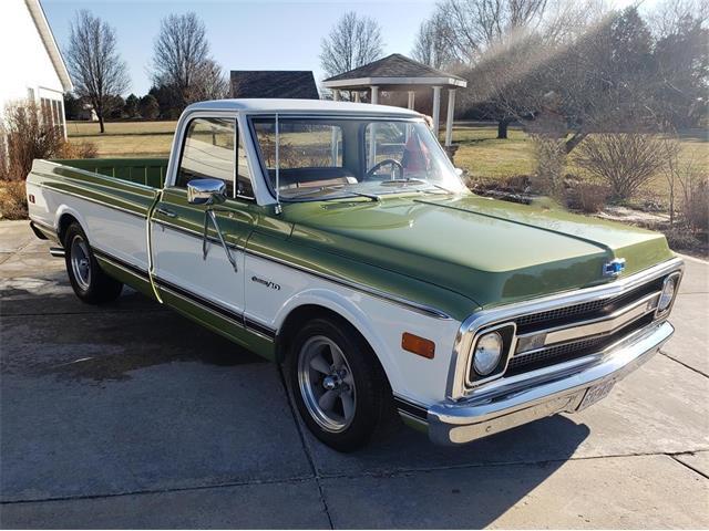 1969 Chevrolet C10 (CC-1425342) for sale in Marthasville , Missouri