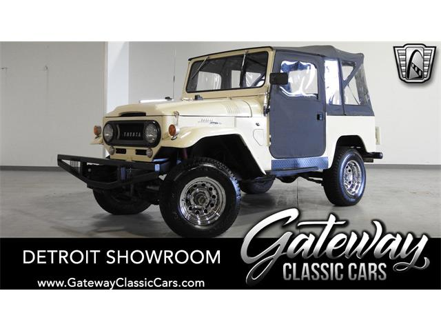 1967 Toyota Land Cruiser FJ40 (CC-1425381) for sale in O'Fallon, Illinois