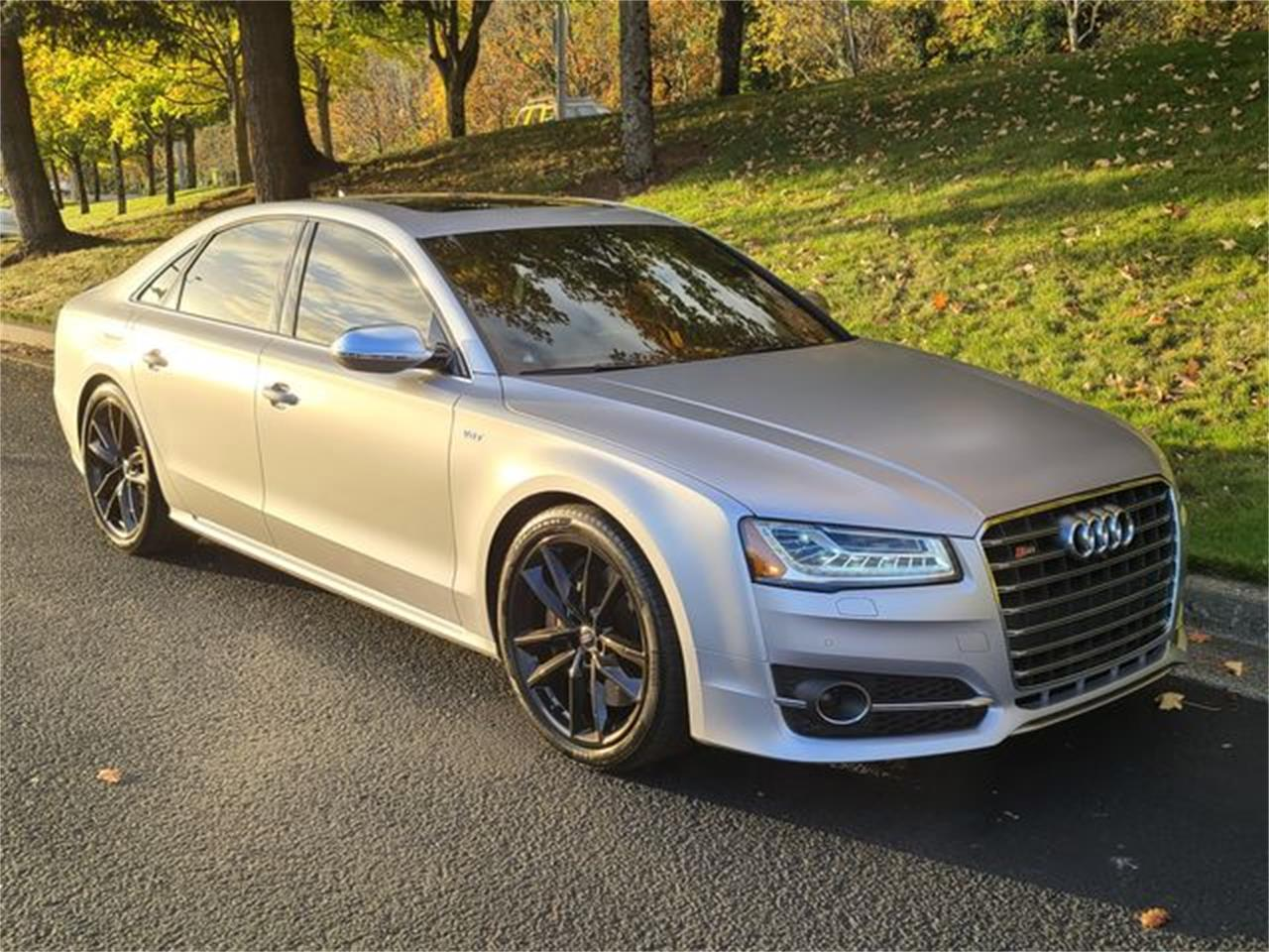 2017 Audi S8 (CC-1420542) for sale in Seattle, Washington