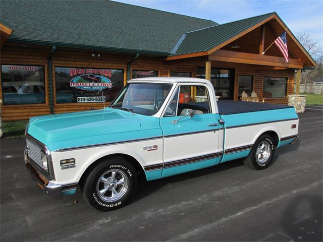 1972 Chevrolet Cheyenne (CC-1425555) for sale in Goodrich, Michigan