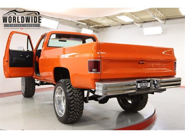 1986 Chevrolet K-10 (CC-1425600) for sale in Denver , Colorado