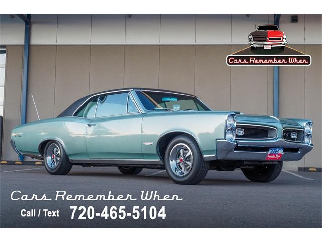 1966 Pontiac GTO (CC-1425629) for sale in Englewood, Colorado