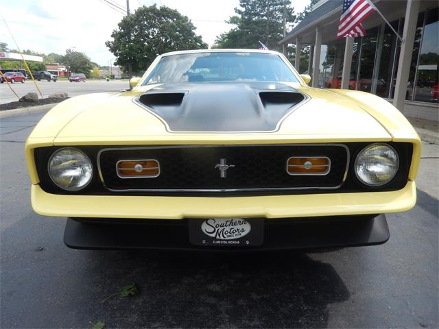 1971 Ford Mustang Mach 1 (CC-1425698) for sale in Clarkston, Michigan