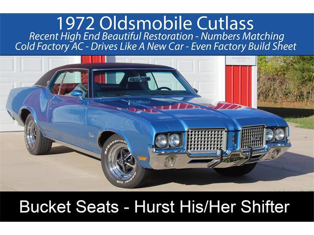 1972 Oldsmobile Cutlass Supreme (CC-1425798) for sale in Rogers, Arkansas