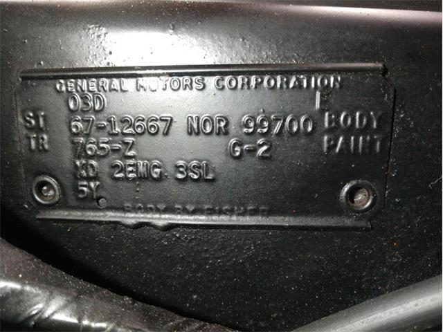 1967 Chevrolet Camaro (CC-1425830) for sale in Volo, Illinois