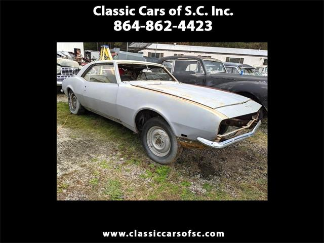 1968 Chevrolet Camaro (CC-1425903) for sale in Gray Court, South Carolina